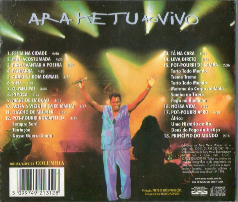 cd araketu ao vivo gratis