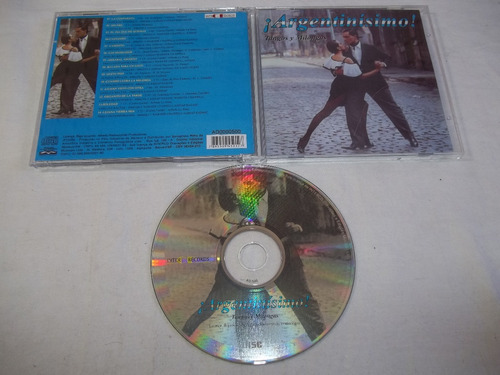 cd - argentinisimo - tangos y milongas
