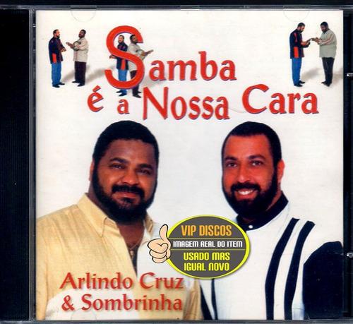 cd arlindo cruz & sombrinha samba é a nossa cara igual novo