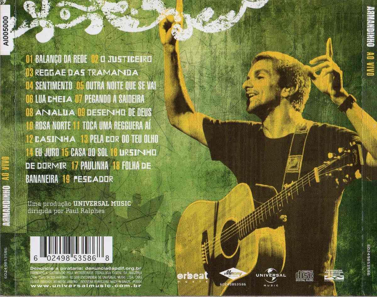o cd do armandinho 2013