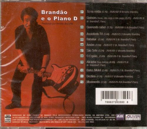 cd arnaldo brandão - brandão e o plano d - novo***