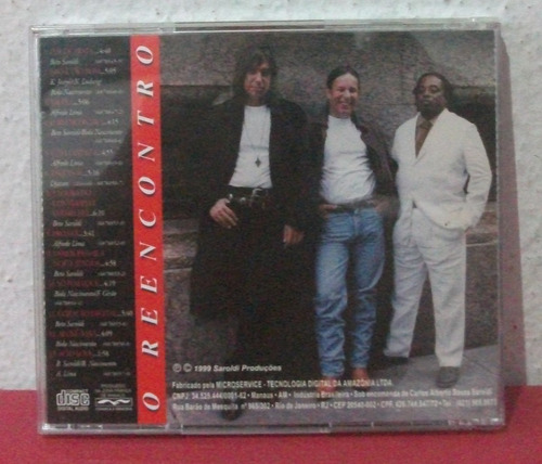 cd arroio - o reencontro - beto saroldi - 1999
