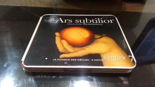 cd ars subtillor dawn of the renaissance en formato cd