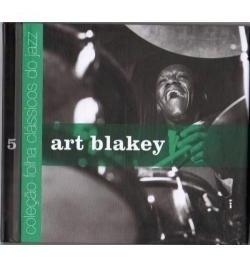 cd art blakey (5) coleção folha clássicos do jazz
