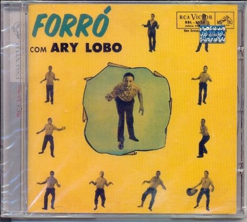 cd ary lobo - forró com ary lobo - 1959 - ari - lacrado