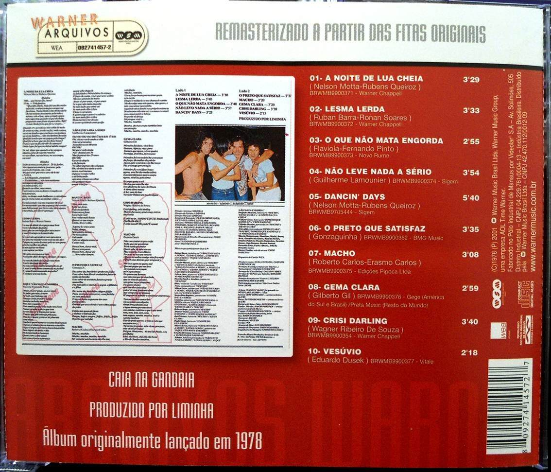 cd as freneticas caia na gandaia