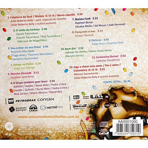 cd as melhores marchinhas do carnaval 2010
