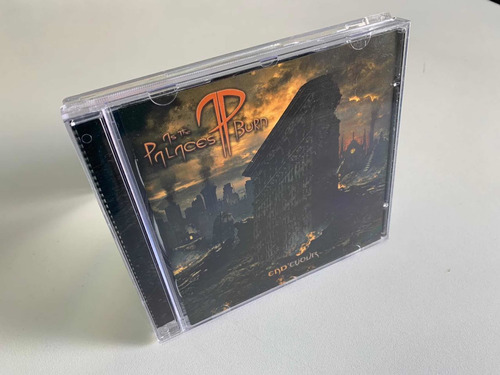 cd as the palaces burn - endevour (heavy metal)