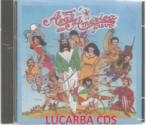 cd - asas da america - vol 4 - alceu - geraldo - joão - elba