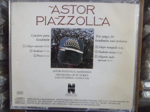 cd astor piazzola-concierto para bandoneon/ tangos frete 10