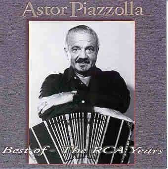 cd astor piazzolla - best of : the rca years (original raro)
