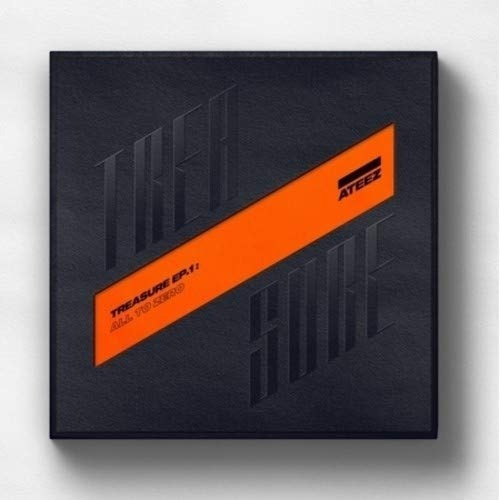 cd : ateez - treasure ep.1: all to zero (with booklet,...
