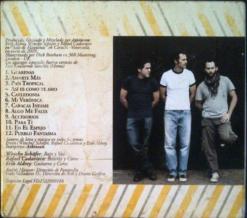 cd - atkinson -  colonia para el alma  - original