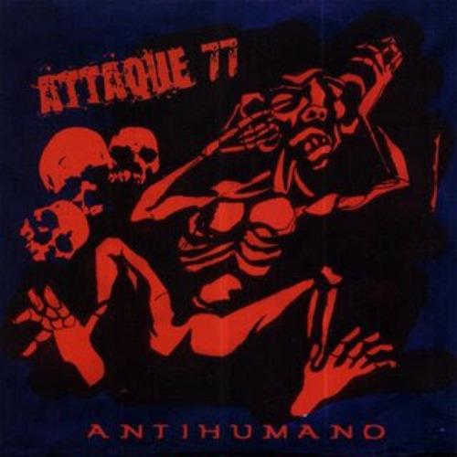 cd attaque 77 antihumano (digipack)