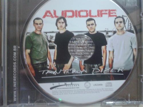 cd audiolife tanto a dizer ja 88 frete grátis