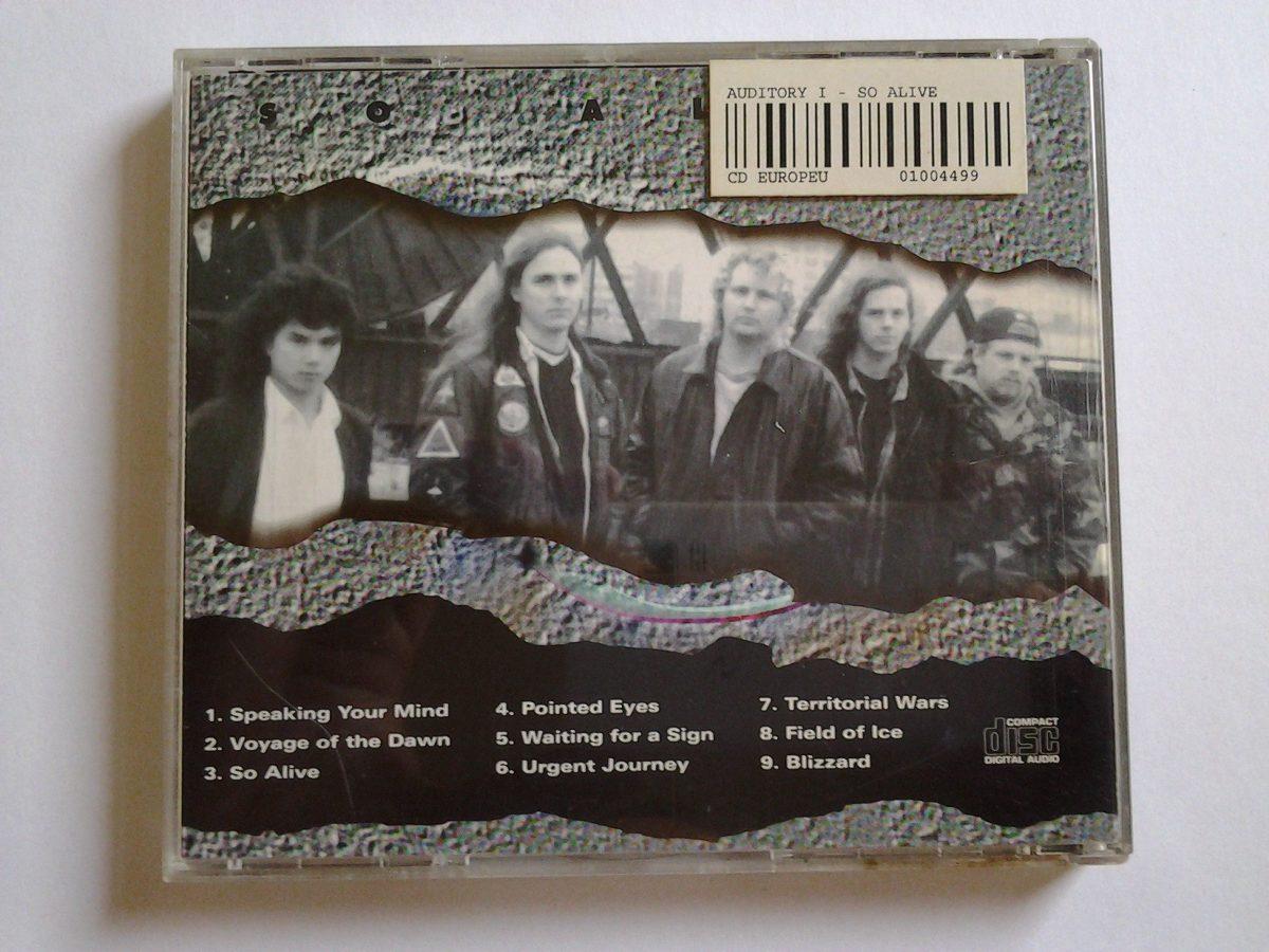 Cd Auditory Imagery - So Alive (estilo Dream Theater)