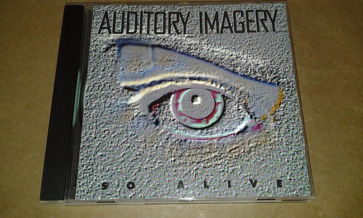 Cd Auditory Imagery - So Alive (prog + Hard Rock)