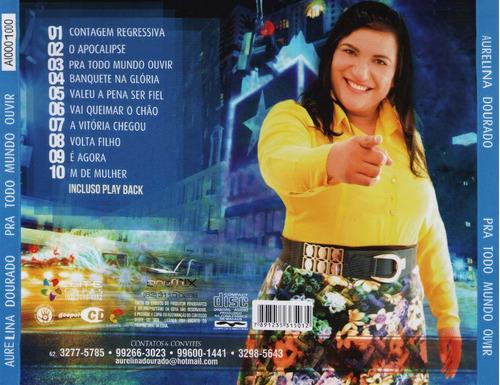 cd aurelina dourado - pra todo mundo ouvir ( lançamento )
