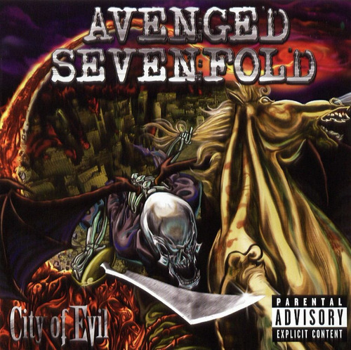 cd avenged sevenfold - city of evil (2005) novo original