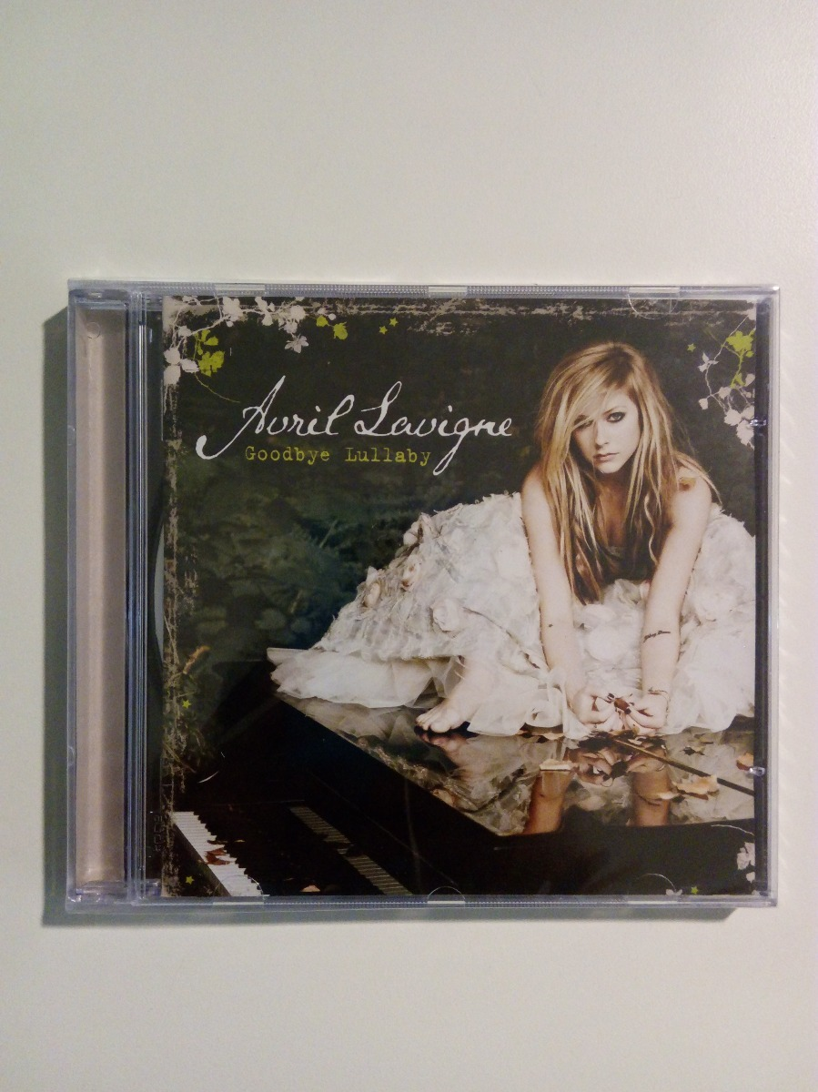 novo cd avril lavigne goodbye lullaby