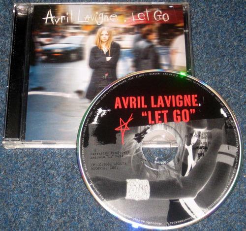cd avril lavigne - let go - original