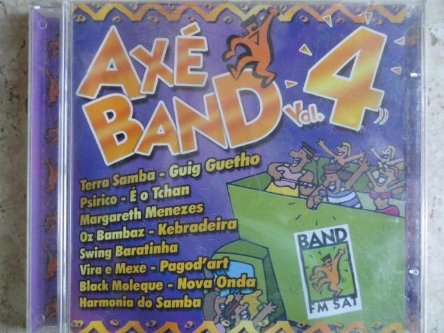 Cd Axé Band Vol  4 - Bahia Margareth Harmonia Kebradeira