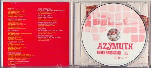 cd azimuth - dança brasileira - 2003 - importado japão