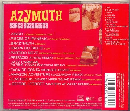 cd azymuth - dança brasileira - 2003