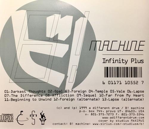 cd b machine infinity plus