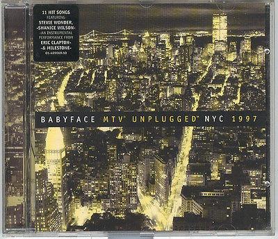 cd   babyface - mtv unplugged nyc 1997     frete gratis