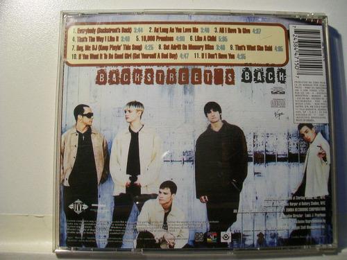 cd-backstreet boys-backstreet back-em otimo estado