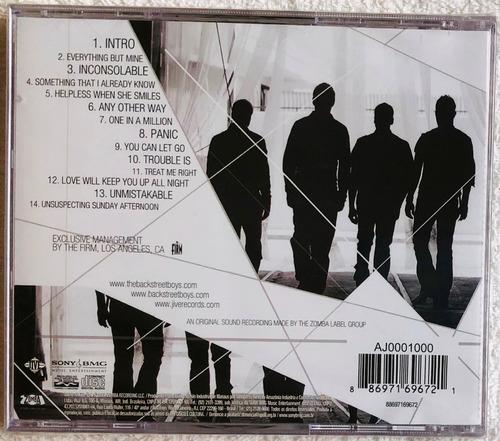 cd backstreet boys unbreakable (2007) lacrado original raro