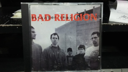 cd - bad religion - stranger than fiction
