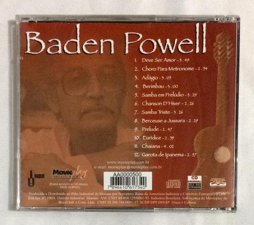 cd baden powell berimbau e outros sucessos (jbn)