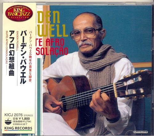 cd baden powell - suite afro consolação - 2004