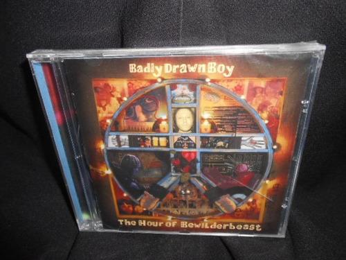 cd badly drawn boy /the hour of bewilderbeast  frete grátis