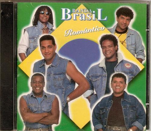 cd banda brasil - romântico - semi novo***