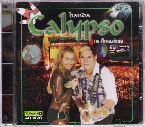 cd banda calypso ao vivo na amazonia original + frete grátis