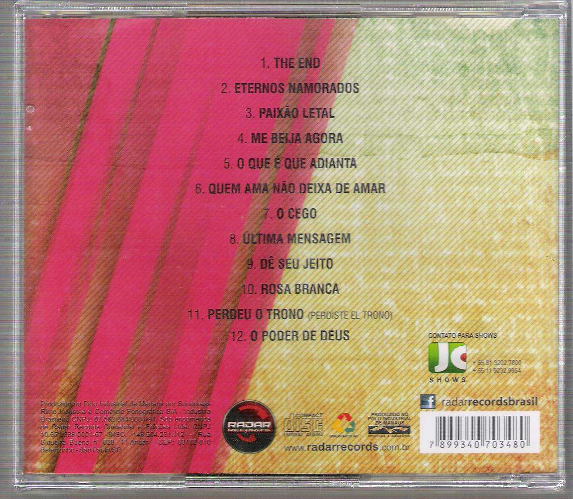 novo cd da banda calypso eternos namorados