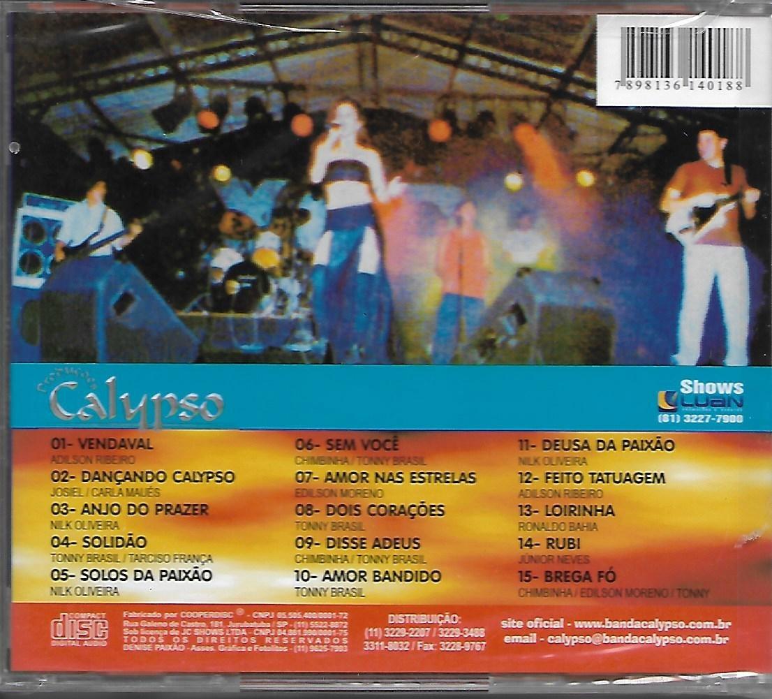 Cd Banda Calypso Vendaval 1999 Novo