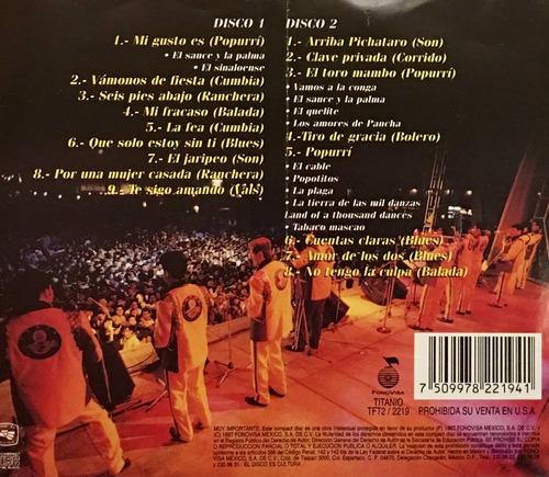 cd banda el recodo historico en vivo 2cds fonovisa