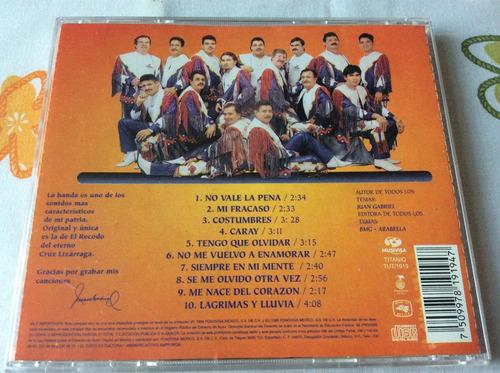 cd banda el recodo tributo a juan gabriel en su 25aniversrio