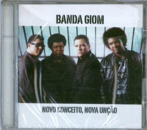 cd banda giom - novo conceito, nova unção