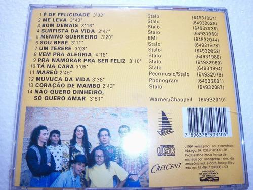 cd banda ouriço  é de felicidade  axé music