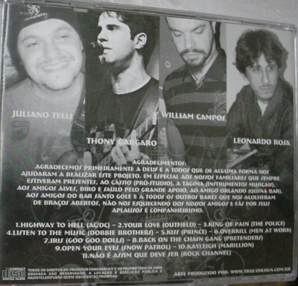cd  banda  rock  channel   -  b203