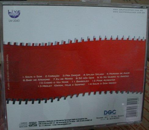 cd  banda  zipper -  solta o som  - b289