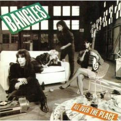 cd bangles - all over the place (1st columbia 1984 pressing)