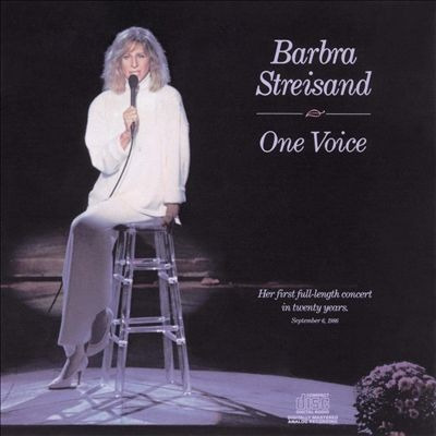 cd barbra streisand one voice first concert in 20 years
