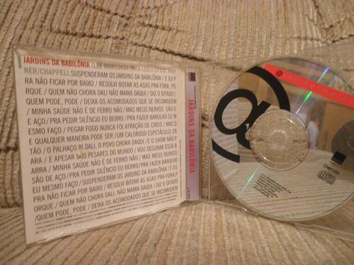 cd barão vermelho jardins da babilônia single
