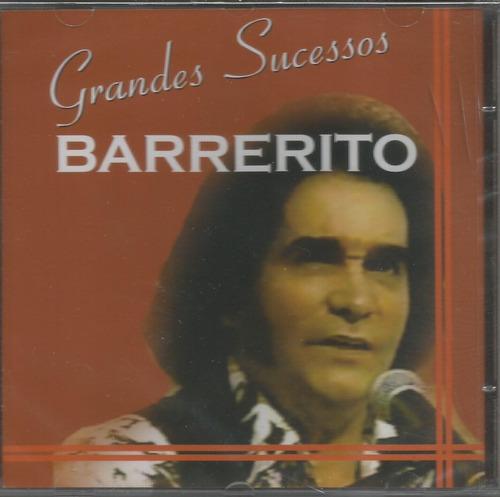 cd - barrerito - grandes sucessos - lacrado